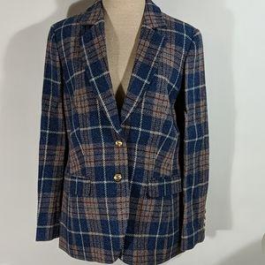 NWT Boast Women's Wool Harris Tweed Jacket Size L